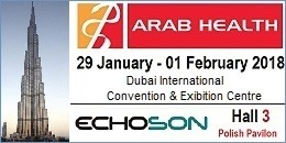 Echo-Son zaproszenie: Arab-Health 2018