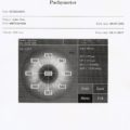 Sample P-scan report printed on external printer - option