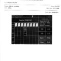 PIROP G -sample printout of report on an external printer
